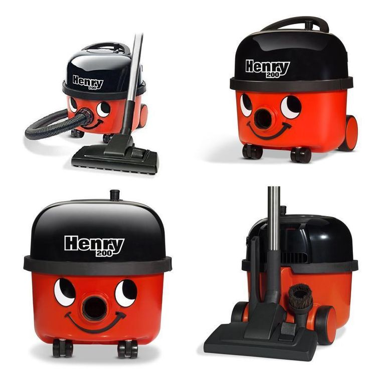Henry Vacuum Cleaner, Bagged, Speed Powerful 620 W - Red/Black Energy Class A