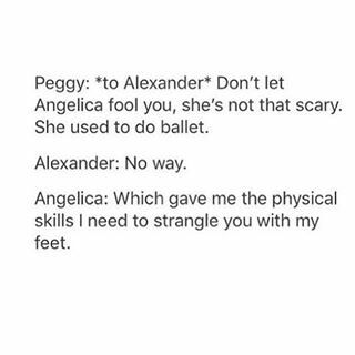 what are you talking about ballerinas are badass and terrifying as fuck