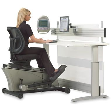 The Elliptical Machine Office Desk - Hammacher Schlemmer. NEED, NEED, NEED IN DISPATCH!!!