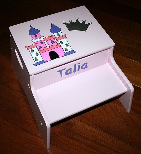 Hand Painted Step Stool with Storage Bathroom by everafterdesign6 & 61 best I Did It - Step stools for children. images on Pinterest ... islam-shia.org