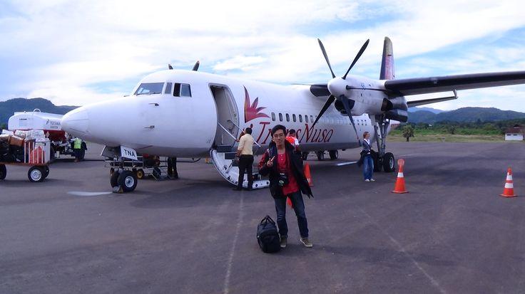 Labua Bajo - Indonesia, landing safely at labuan bajo airport