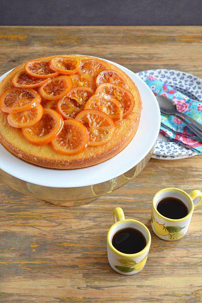 Gâteau orange sanguine Grand Marnier