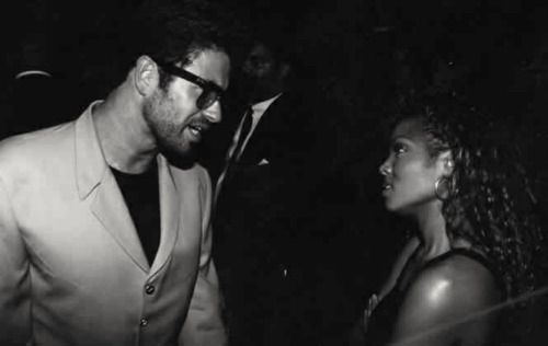 George Michael and Janet Jackson
