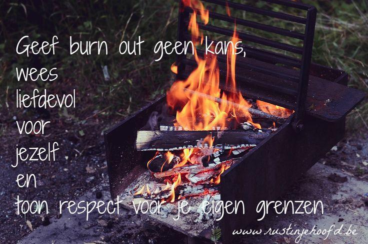 #rustinjehoofd #zelfliefde #zelfvertrouwen #vreugde #grenzen #burnout  Geef burn-out geen kans, wees liefdevol voor jezelf en toon respect voor je eigen grenzen.  www.rustinjehoofd.be