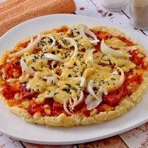 Pizza burger singkong, kudapan kreatif untuk usaha. Sajikan saat arisan atau kumpul keluarga pasti menuai pujian.