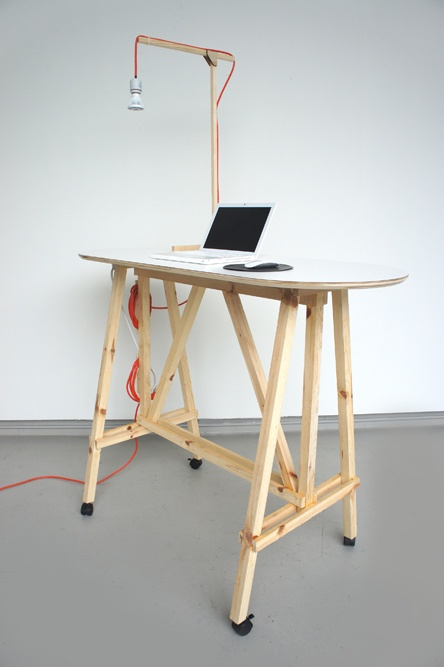 Starter Office Standing Desk : Scott Klinker Product Design