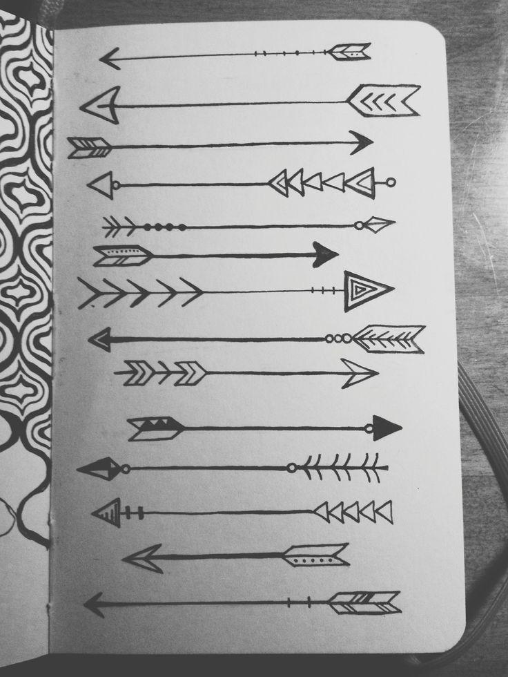 Koi Pond — lauren-salgado: Arrows on arrows on arrows....