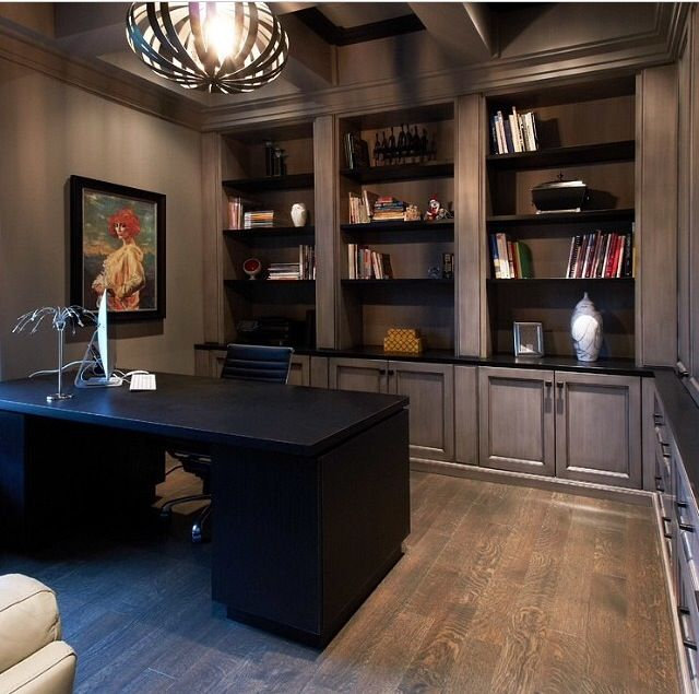 The 18 Best Home Office Design Ideas With Photos: Best 25+ Masculine Office Ideas On Pinterest