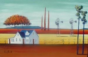 """""""Landscape blue sky (Karoo)"""""""