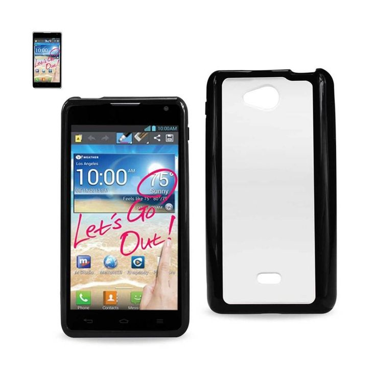 Reiko REIKO LG SPIRIT 4G FRAME BUMPER CLEAR BACK CASE IN BLACK. Constructed from impact-resistant material and double-enforced with a shock absorbing silicone inner-sleeve. Built In vertical kickstand. Heavy duty design with front raised edges to protect your mobile device and touchscreen. Protects your phone under extreme conditions and a host of other environmental factors great dropproof and shockpoorf protection.Condition : This item is brand new, unopened and sealed in its original…