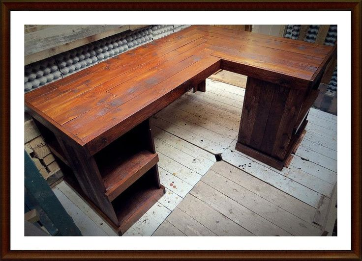 Pallet Wood furniture | Pallet Desk | Handmade desk by PalletBrighton on  Etsy https:/