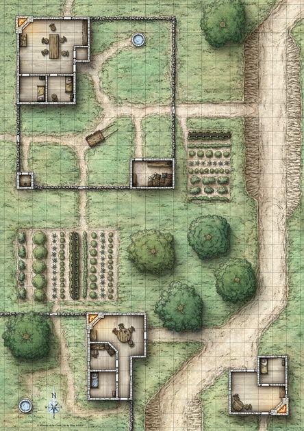 Reavers of Harkenwold; Poster Side 1 (Digital Gridded & Ungridded Versions)                                                                                                                                                                                 More