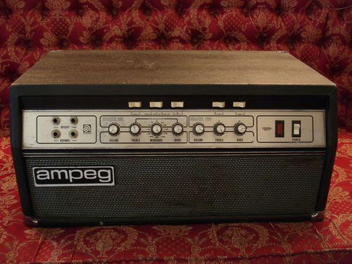 Vintage Ampeg SVT Bass Amp Head