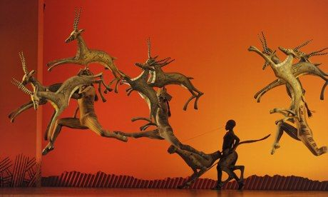 Lion King at Lyceum Theatre. http://lyceum.london-theatretickets.com/