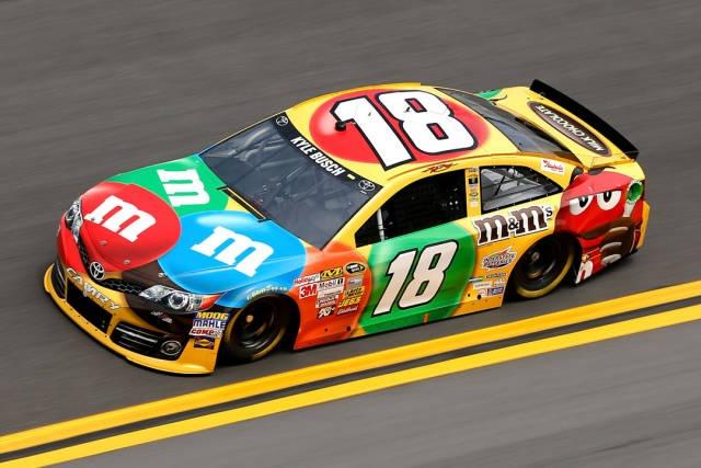 Photos: All the 2013 NASCAR Sprint Cup Cars - Road & Track  #18 Toyota Camry-Kyle Busch