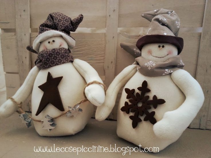 Le cose piccinine: Starting with Christmas - Pupazzi di neve