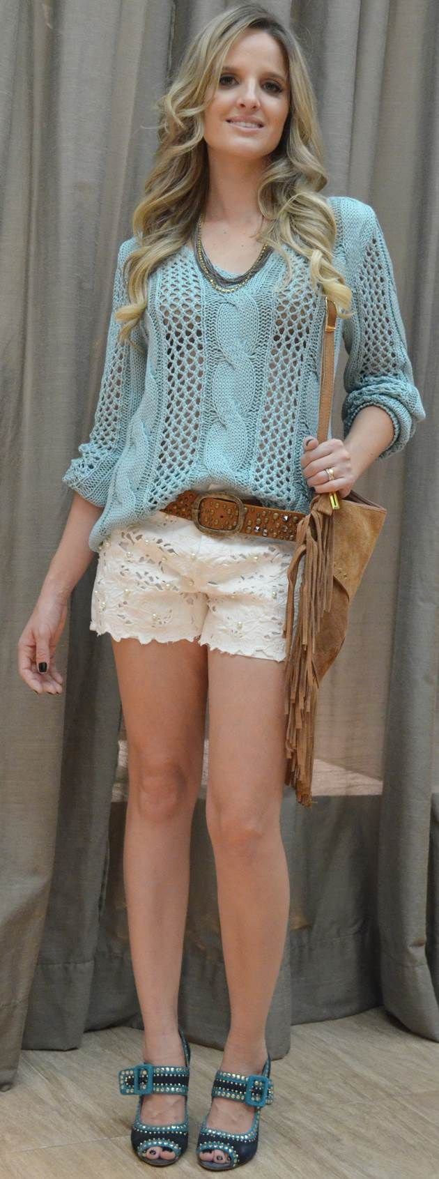 Blusa em croche, blusa da moda