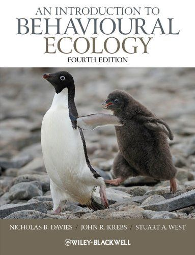 An Introduction to Behavioural Ecology Wiley-Blackwell