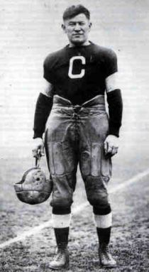 "James Francis ""Jim"" Thorpe (Sac and Fox (Sauk): Wa-Tho-Huk, translated to ""Bright Path"")[1] (May 28, 1888 – March 28, 1953)[2] was an American athlete of mixed ancestry (Caucasian and Native American). Considered one of the most versatile athletes of modern sports, he won Olympic gold medals for the 1912 pentathlon and decathlon, played American football (collegiate and professional), and also played professional baseball and basketball."