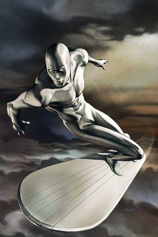 O Surfista Prateado.