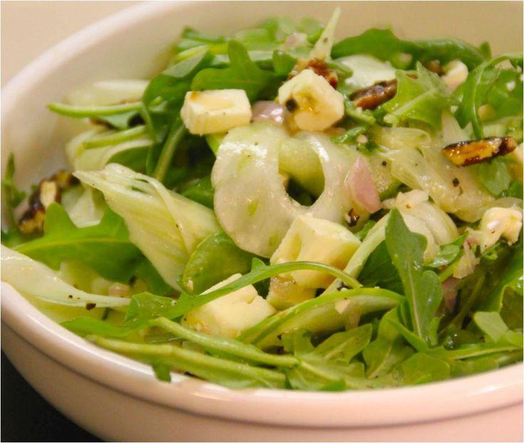 Fenchel Birnen Salat | Rezept | Fenchel Salat mit Gorgonzola