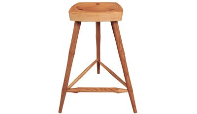 How to Turn a Shop Stool: Turning and Assembling the Legs