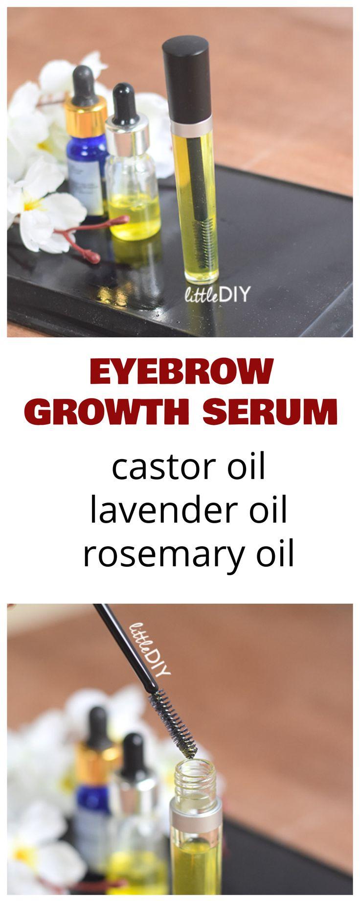 Diy lavender eyebrow growth serum eyebrow growth