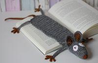 Amigurumi   Leseratte   DIY   Lesezeichen   kostenlose Anleitung   benbino   häkeln   crochet   www.benbino.com  