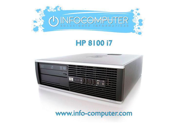 Para terminar el día, en #Infocomputer te traemos este #HP 8100 i7 con un DESCUENTO de 20euros.  ⭕ Procesador: Intel Core i7 860 2800MHz. ⭕ Disco Duro: 250 GB. ⭕ Memoria RAM: 4 GB.  ✅ PRECIO: 229,26 euros (ANTES 249,26 euros). ✅ FINÁNCIALO por 43,21 euros al mes. ✅ 2 AÑOS DE GARANTÍA.  ➡️ CÓMPRALO AQUÍ   #ordenadoressegundamando #ordenadores #ofertas #computer #computer #desktop #desk #offer #offers