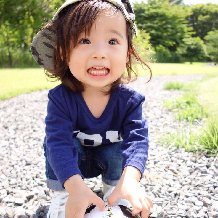 いいね!5,268件、コメント194件 ― @sarasara718のInstagramアカウント: 「. . 別ショット♡ . 最近の写真たちの中で 特に母のお気に入りをpost♡ . このお顔たまらん♡♡♡ . #wear #ootd #kids #kids_japan…」