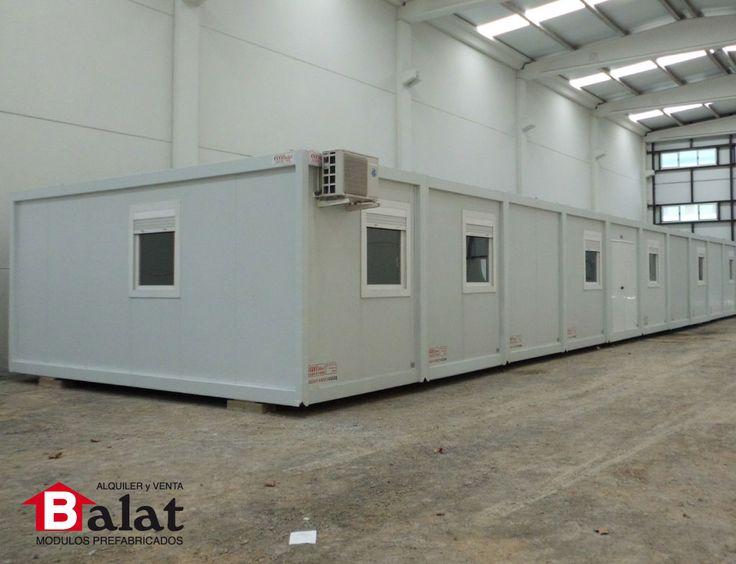Oficinas modulares para enagas caseta prefabricada m dulos - Balat modulos prefabricados ...