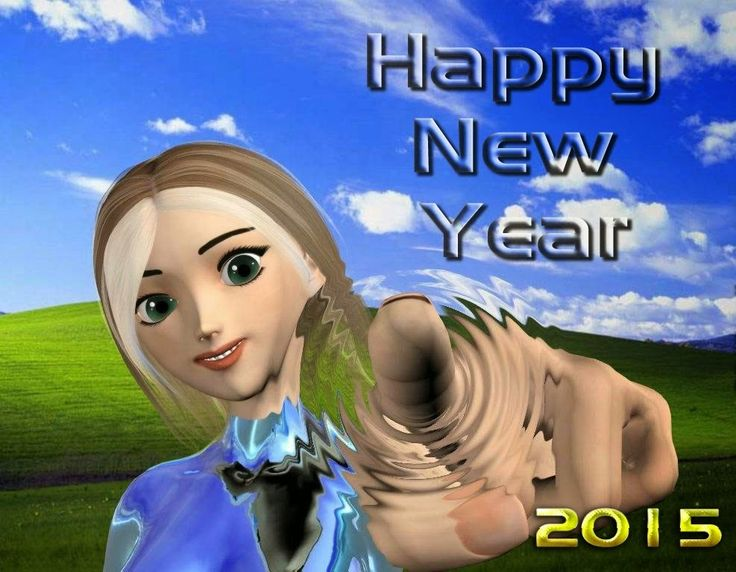 Happy New Year 2015 Animated Wallpapers