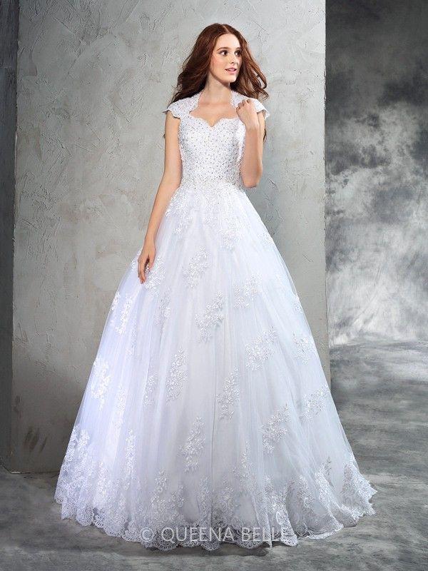 102 besten Wedding Dresses Bilder auf Pinterest   Hochzeitskleider ...