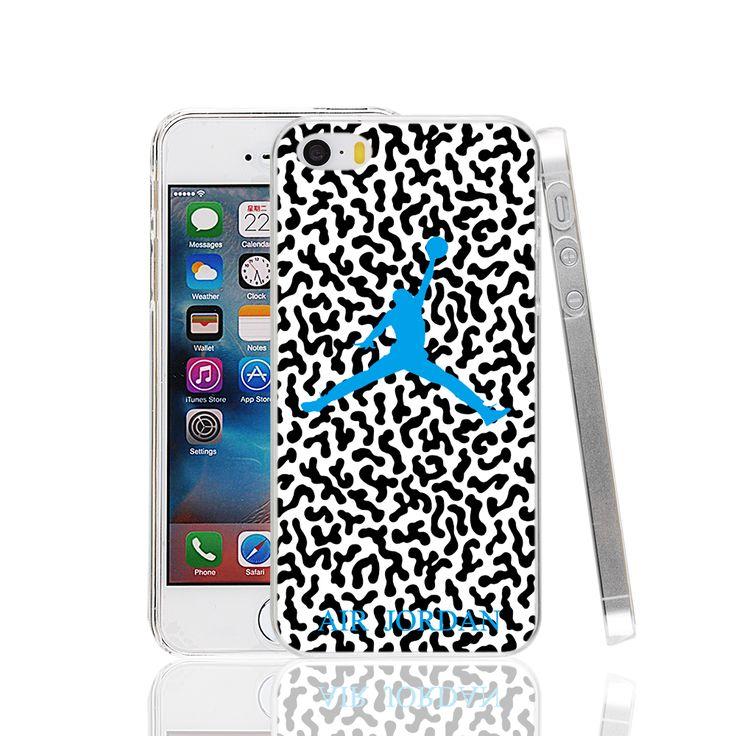 20594 синий камуфляж air jordan Чехол для Apple iPhone 4 5C 4S 5 5S SE 6 6 S Plus