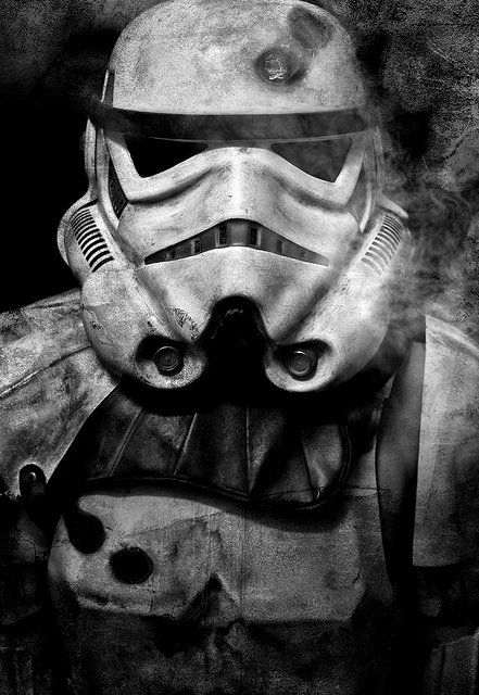 Star Wars - Stormtroopers / Black & White Photography
