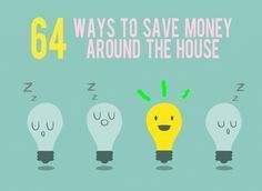 64 Insanely easy ways to save money around the house – Country house decor