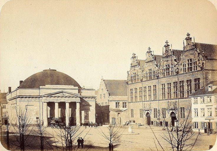 Danzig/Gdańsk - City theatre, 1865