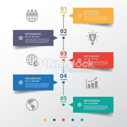 ベクトルアート : バナーすっきりとしたデザインはタイムライン/グラフィックまたは website.Vector e