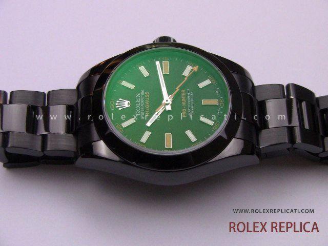 Rolex Milgauss Pro Hunter Pvd Replica 2836-2 Swiss Eta