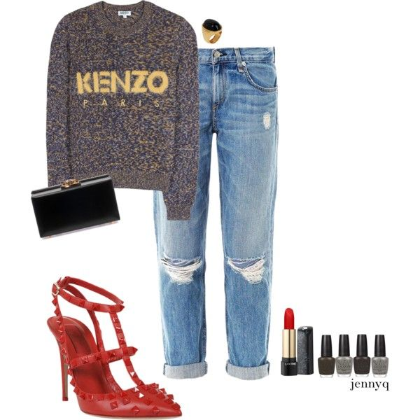 """""""casual night out."""" by jennykiou on Polyvore"""