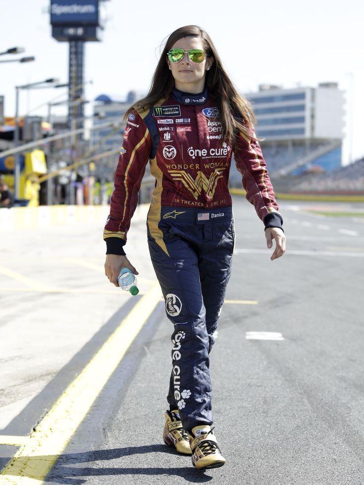 2017 - May 20 - Danica Patrick at Charlotte Motor Speedway. (HHP/Garry Eller)  Garry Eller, HAROLD HINSON PHOTOGRAPHY