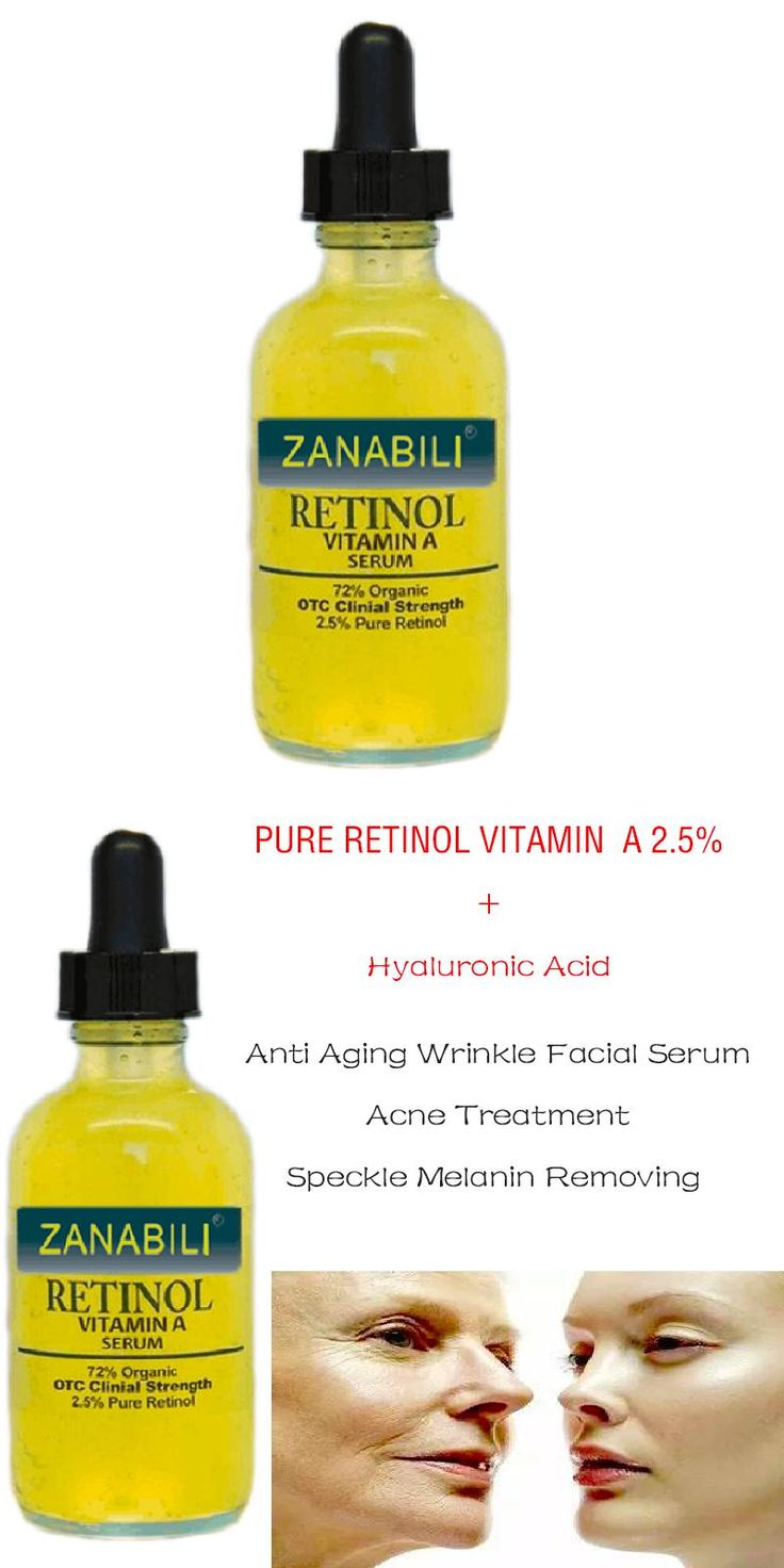 [Visit to Buy] Pure Retinol Vitamin A 2.5% + Hyaluronic Acid Skin Care Acne Cream Removal Spots Facial Serum Anti Wrinkle Whitening Face Cream #Advertisement