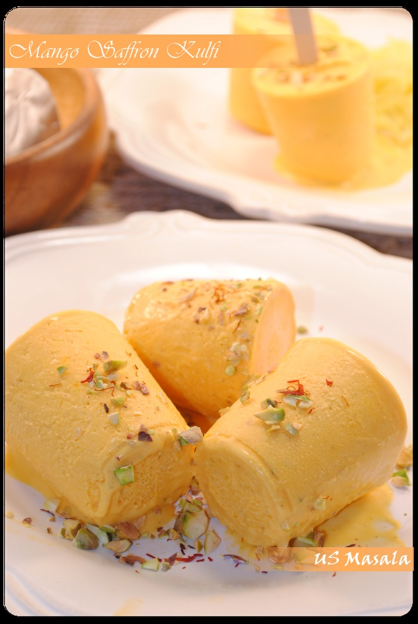 Mango Kulfi  This is decadent. : )