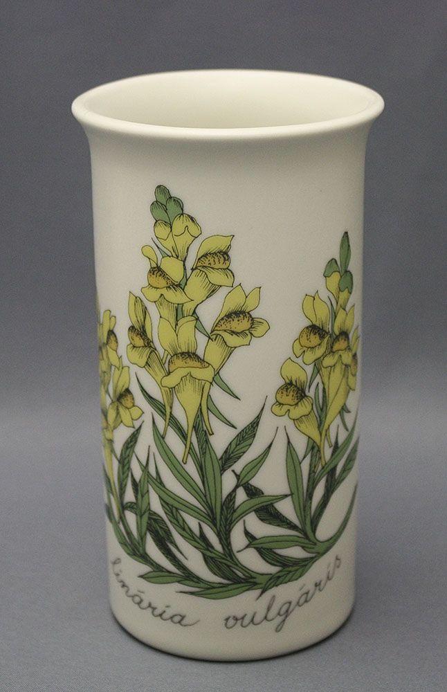 Arabia, kukkamaljakko, Korkeus 14 cm, halkaisija 7,5 cm, Botanica-maljakot, Esteri Tomula