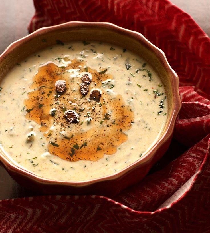 Methi Raita Flavoured With Garlic Recipe