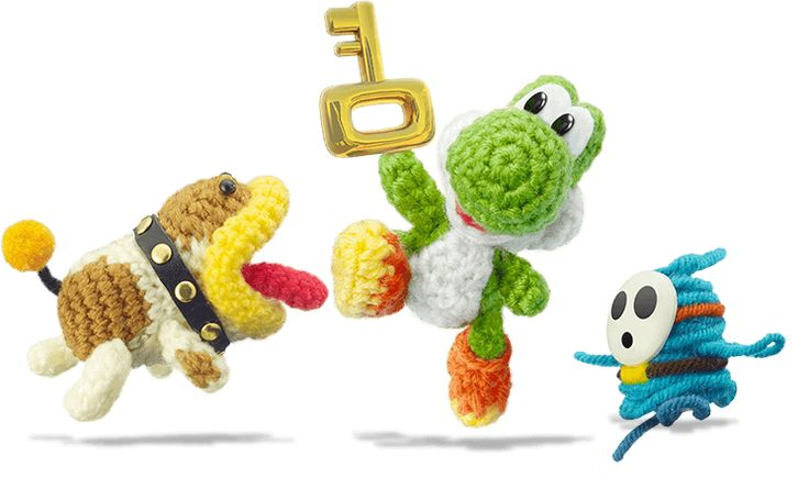 Yoshi's Woolly World. This is the cutest game!!
