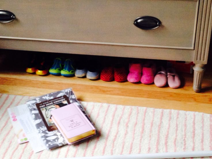Shoes in waiting...