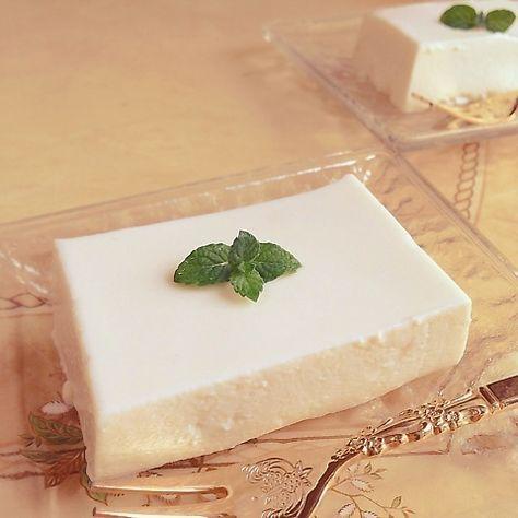 濃厚とろける♡お豆腐レアチーズケーキ
