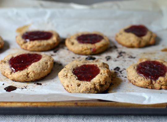 Jammy Raspberry & Walnut Scones http://www.thekitchn.com/recipe-jammy ...
