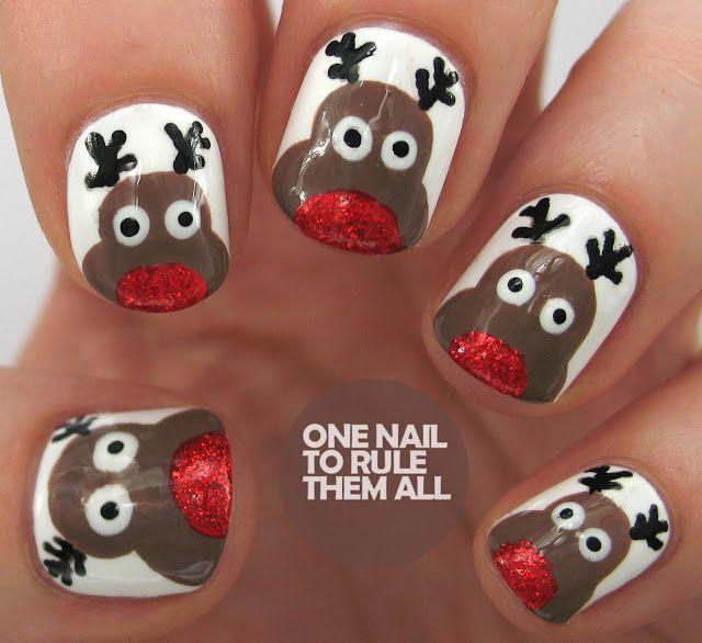 Cute Christmas Nagel Designs, Um Zu Versuchen, In Diesem Winter